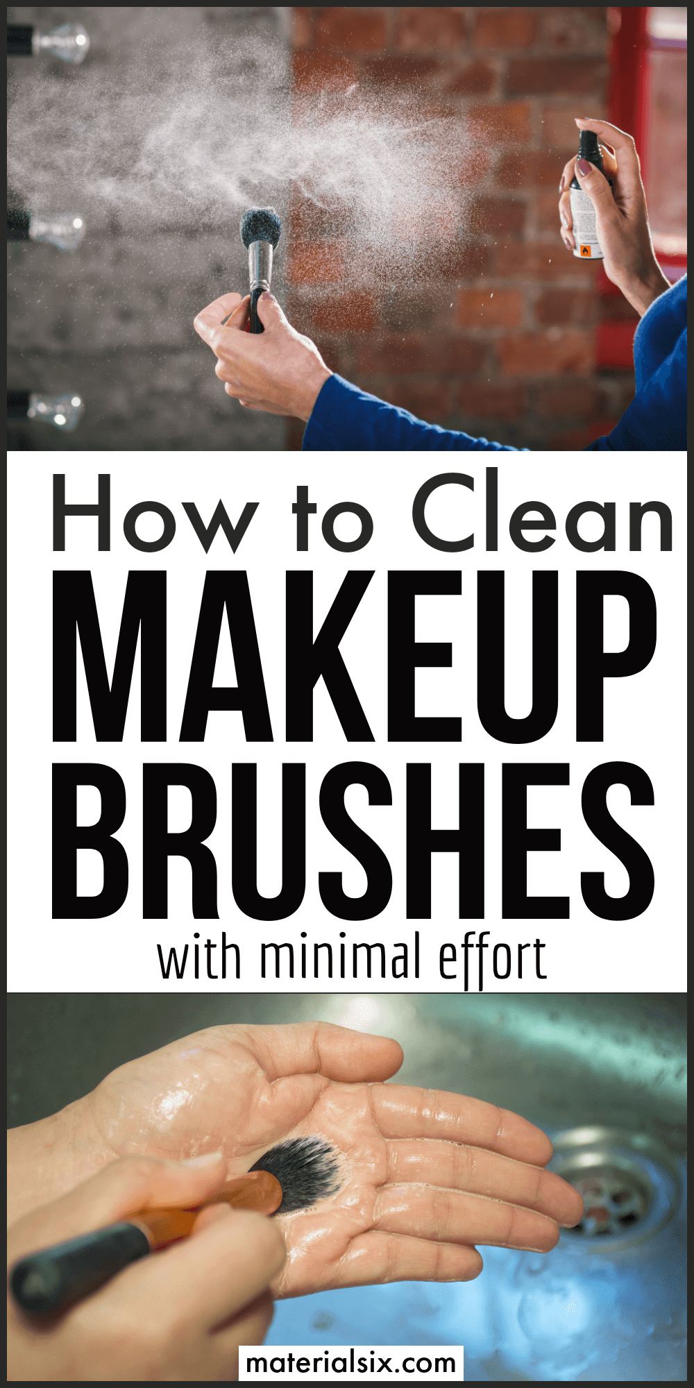 How to Clean Make Up Brushses