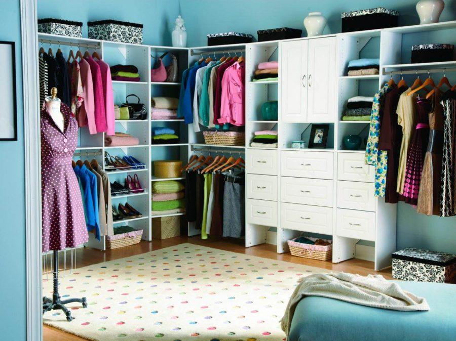 how to organize closet