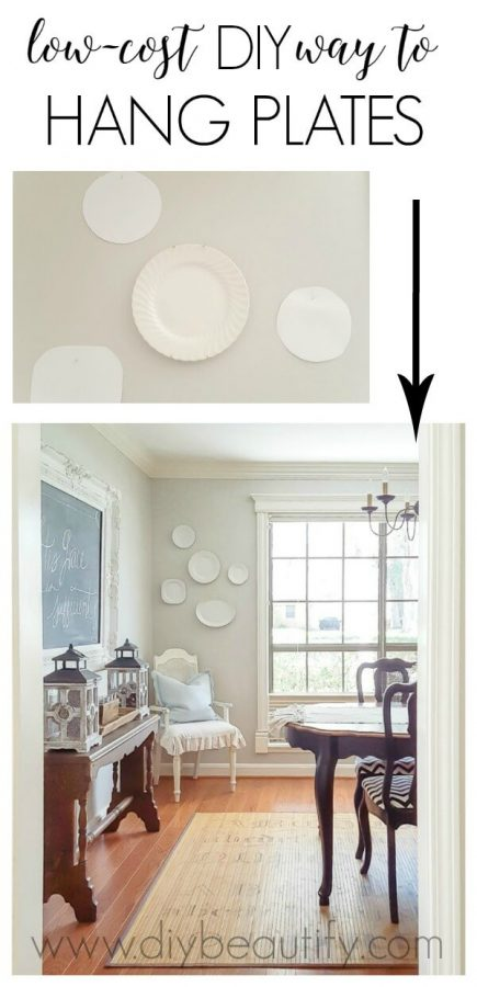 Plate wall - large wall decor ideas