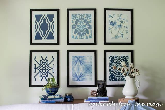 DIY Fabric Artwork