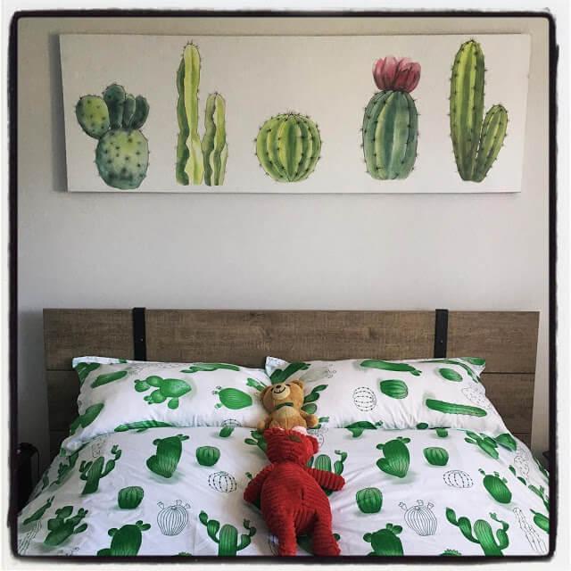 Minimalist Cactus Arts_
