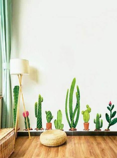 DIY Cactus Room Decors
