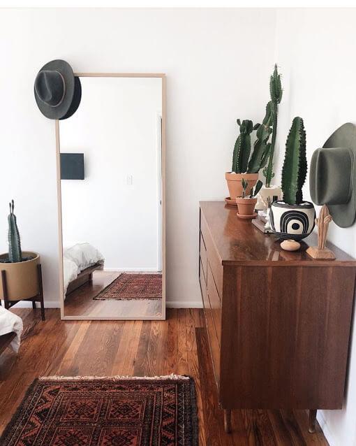 Aesthetic Cactus Bedroom