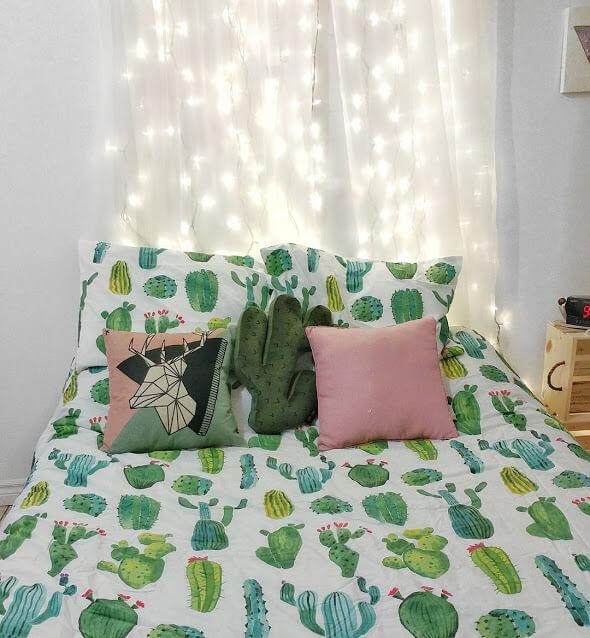 Natural Fresh _Cactus Bedroom