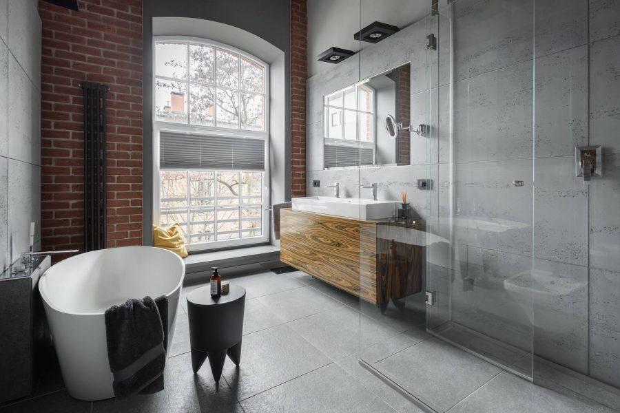 Urban Industrial Bathroom
