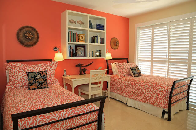 Charming Peach Bedroom Decor Ideas