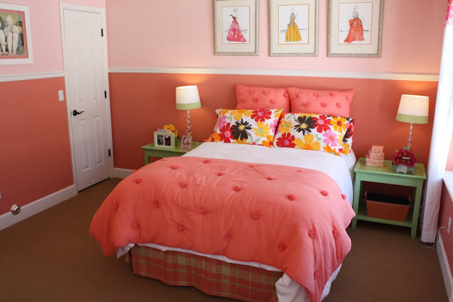 Pink for Feminine Vibes for Bedroom Decor