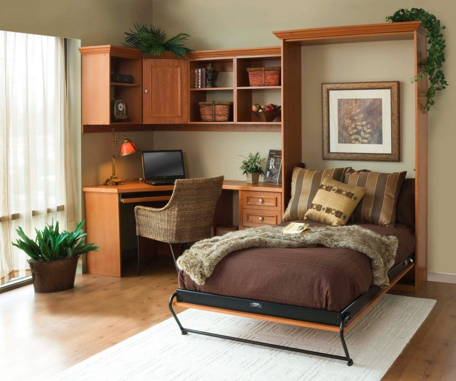 Murphy Bed for Small Guest Bedroom Ideas