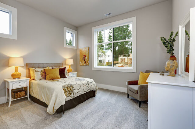 Guest Bedroom Ideas - Cheerful Guest Bedroom Ideas in Yellow