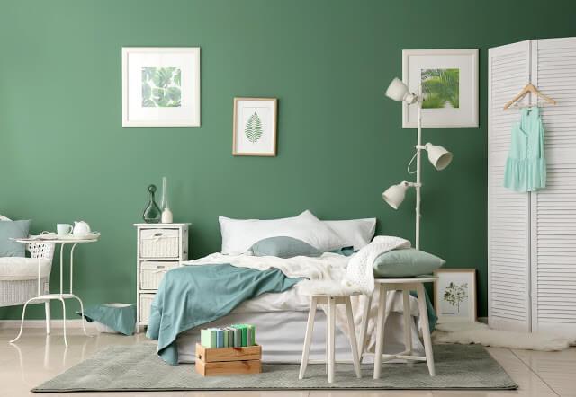 Subtle Green Bedroom Ideas