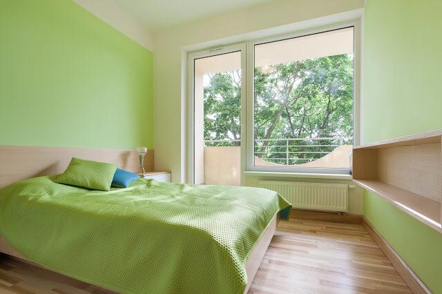 Light Green Bedroom Paint Color