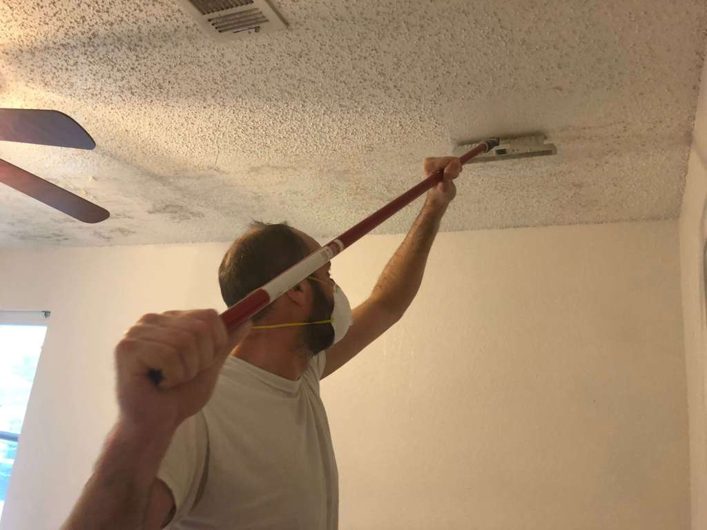 tips to remove popcorn ceilings