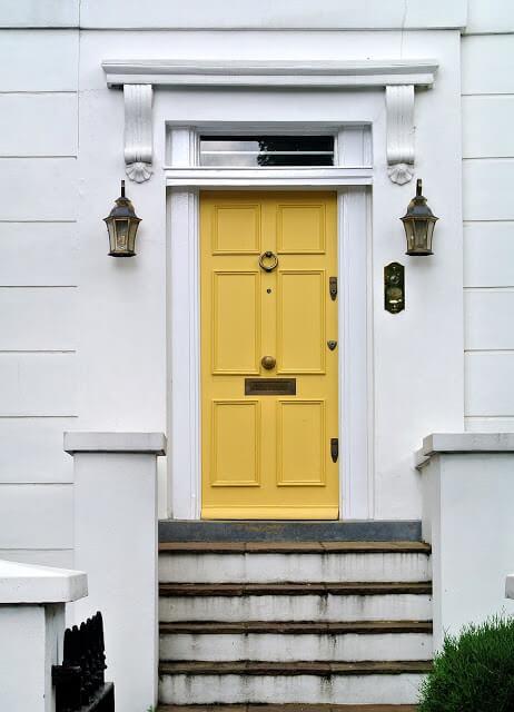 Yellow Front Door Color Ideas