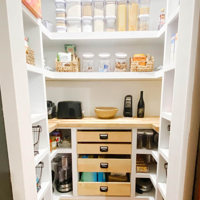 Wooden Pull out Drawers