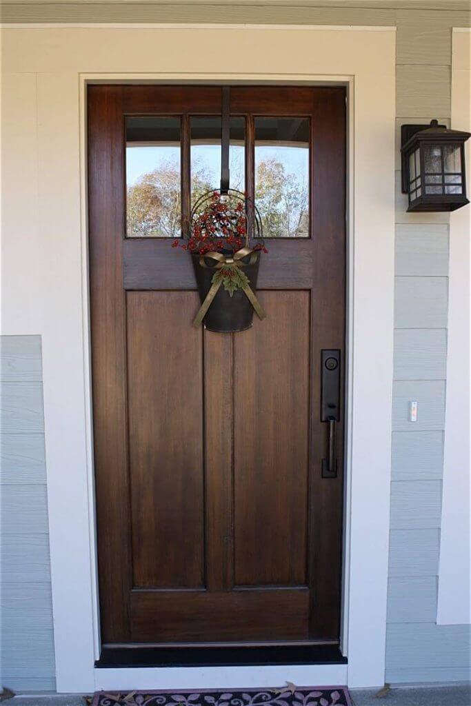 Wooden Door Paint Color