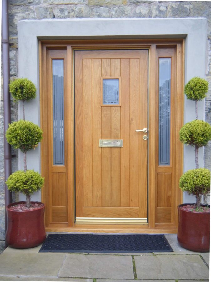 Rustic Front Door Color