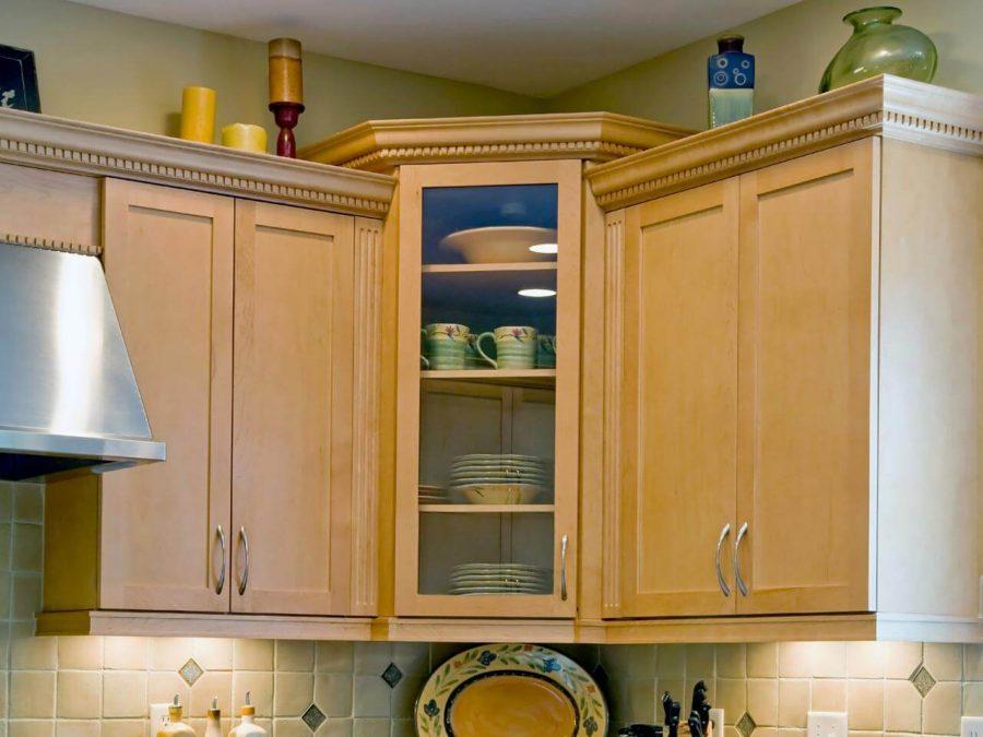 Upper Corner Kitchen Cabinets Ideas