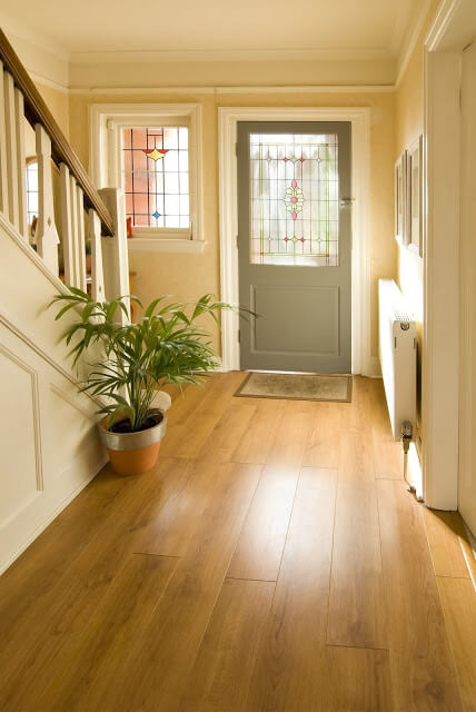 Stay Neutral with Gray - front door colors