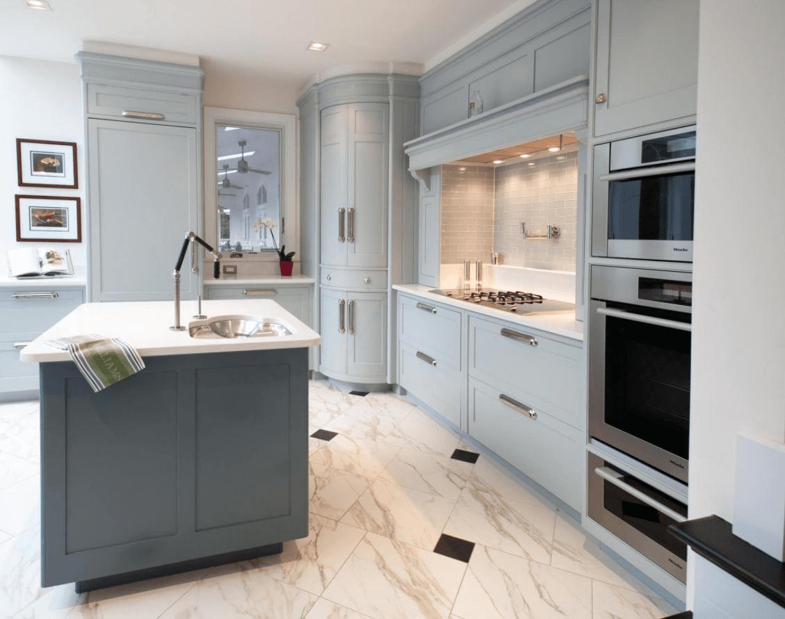 Make It Round - Corner Kitchen Cabinets