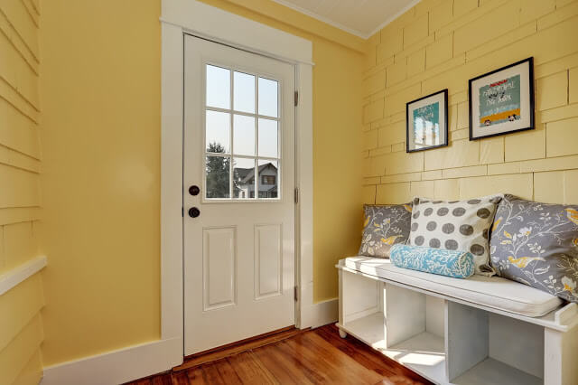 White for Any Door Color Combination