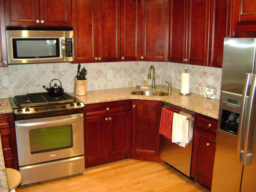 A Sink Will Be Good - Corner Kitchen Cabinet