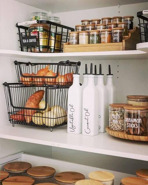 Bottles for Oil & Mini Jars for Spices