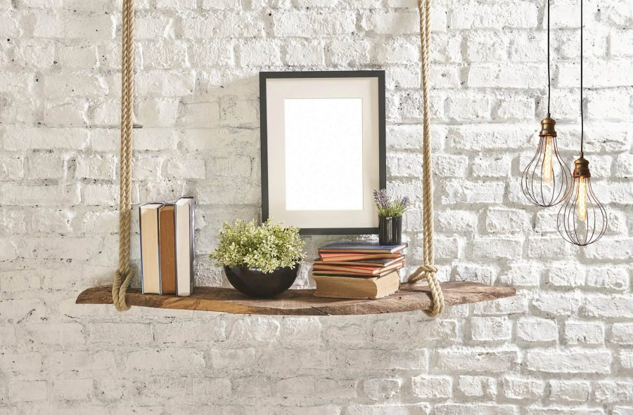 How to Decorate Shelves Like Pottery Barn