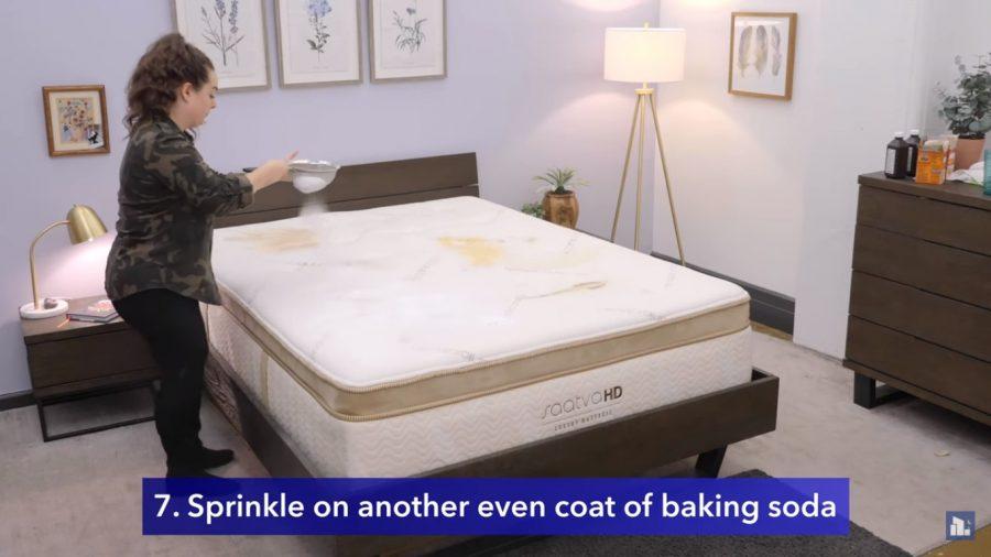 spread baking soda