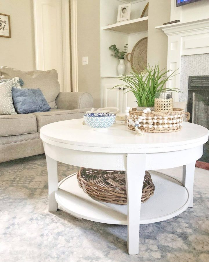 Wooden Materials on the Spot - coastal living room