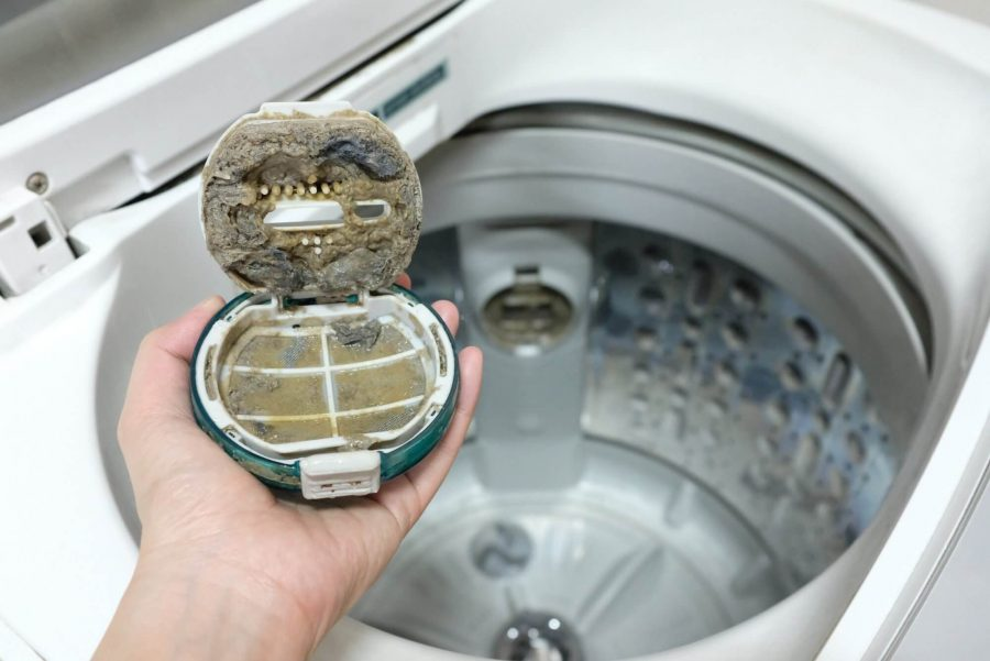 top loader washing machine cleaning