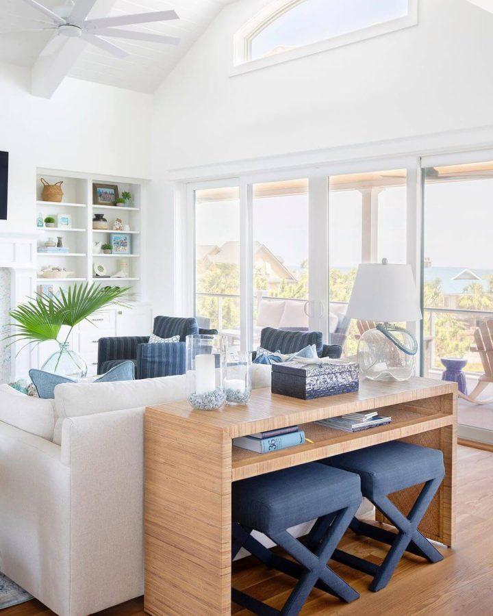 modern coastal living room