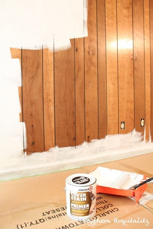 wood paneling cover up ideas