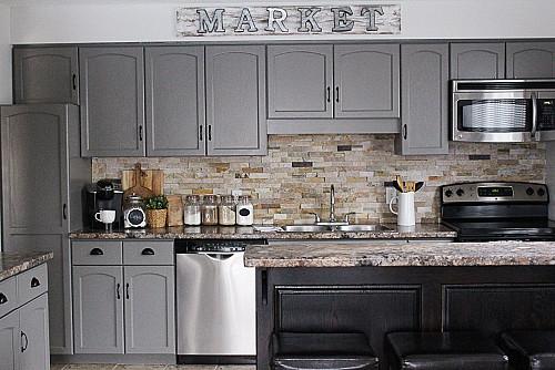 Update Your Kitchen - Kitchen Cabinet Makeover