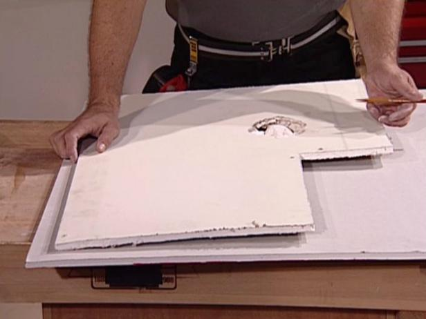 How to Repair Drywall - How to Fix a Hole in the Wall