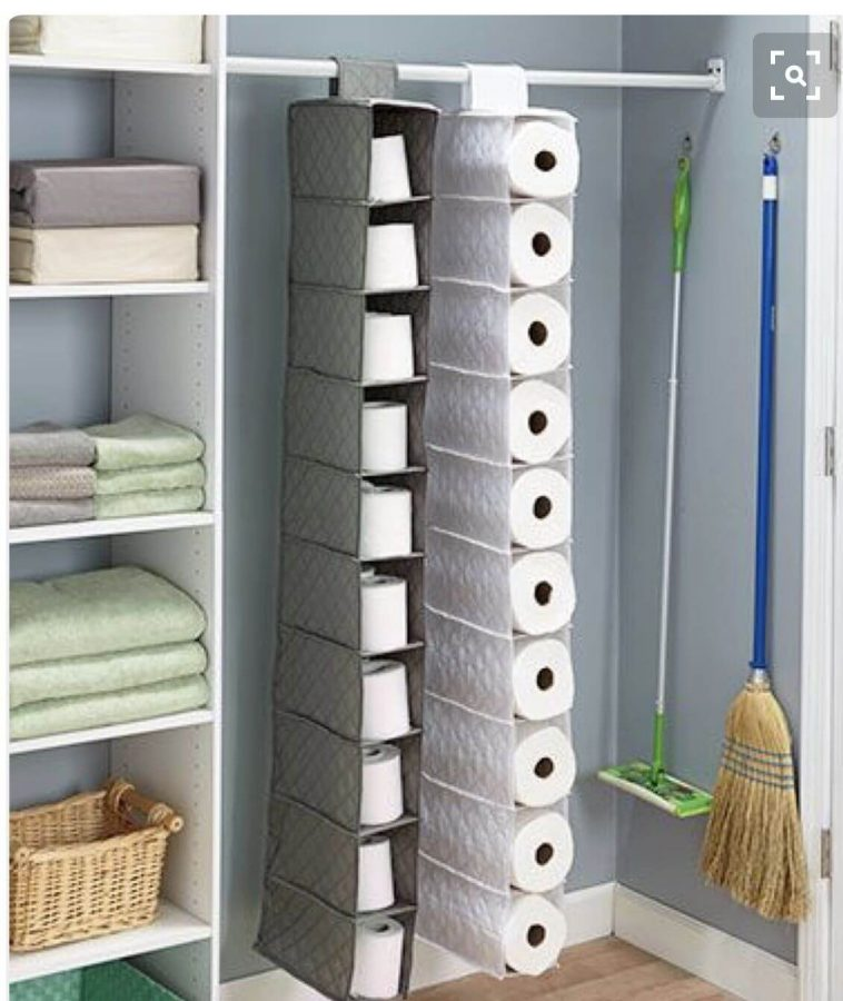 Toilet Paper Hanging Storage Box