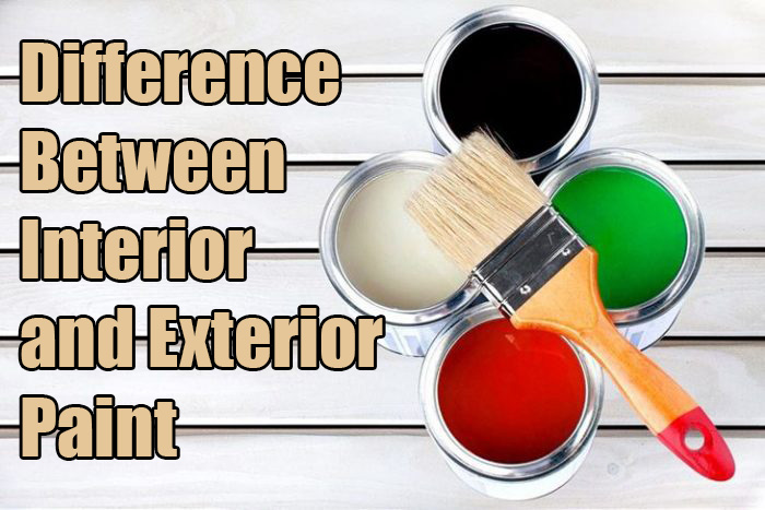 What Is The Difference Between Interior And Exterior Paint?