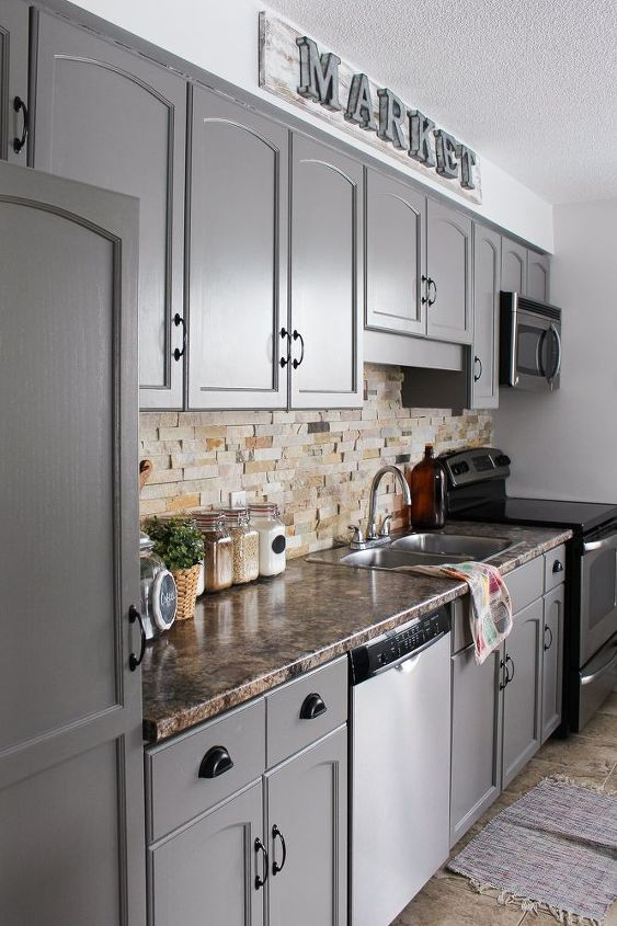 How To Make Oak Kitchen Cabinets Look Modern Materialsix