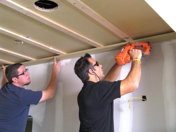 Installing Planks - How to Install a Tongue-and-Groove Plank Ceiling