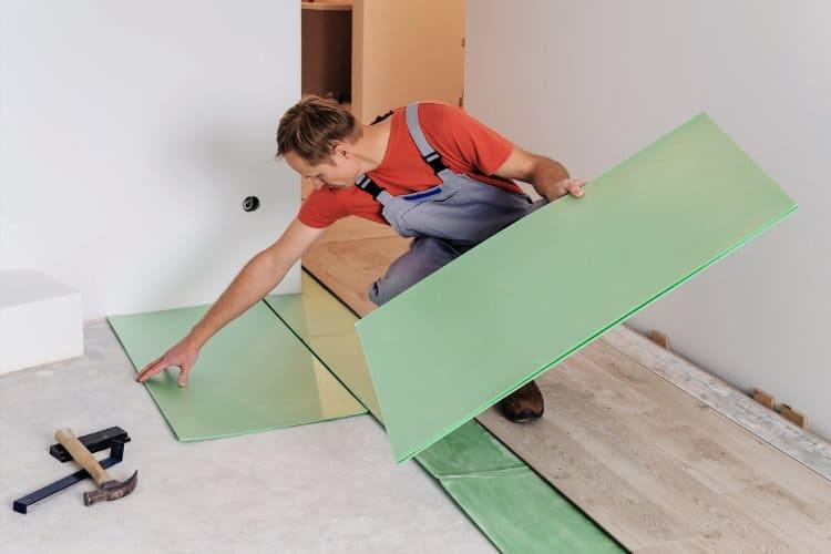 The Best Ways to Soundproof a Floor - Underlayment