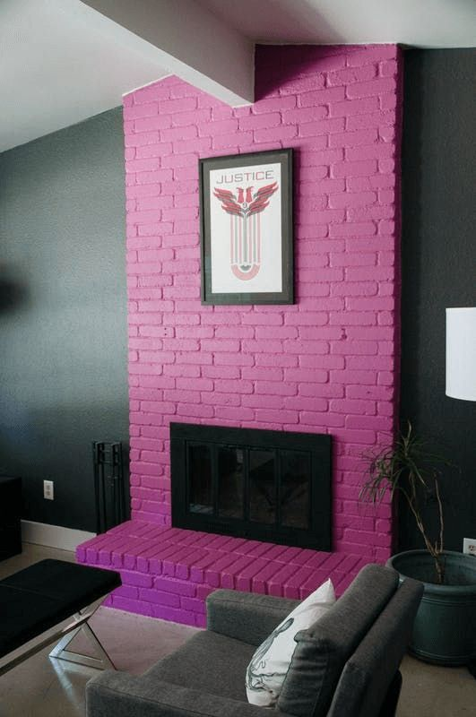 The Blended Look Fireplace