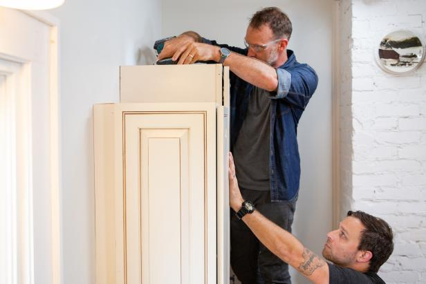 Remove the Cabinets from the Wall - How to Remove a Kitchen Cabinet