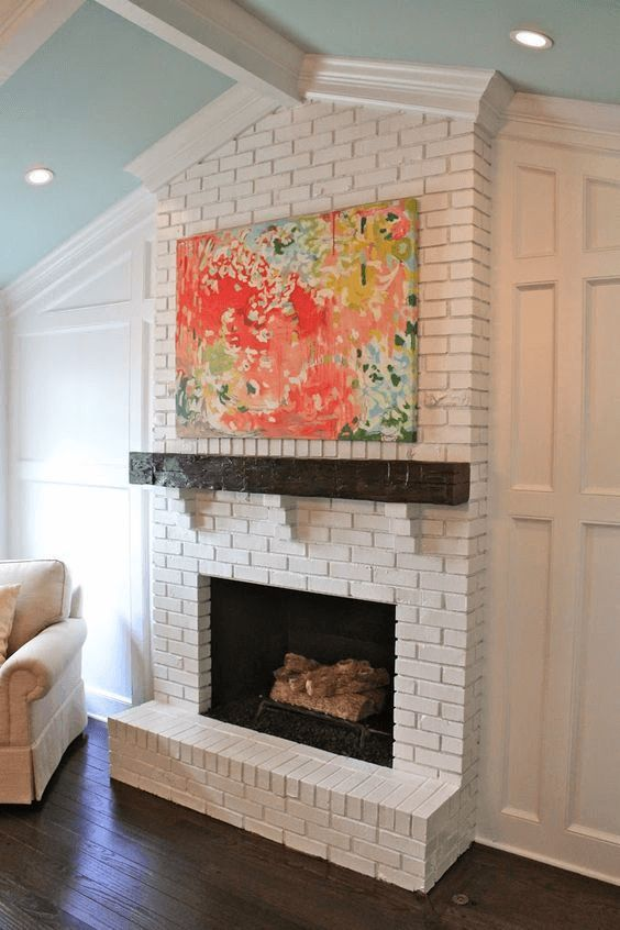 The Blended Fireplace Painting