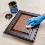 How to stain wood kitchen cabinets