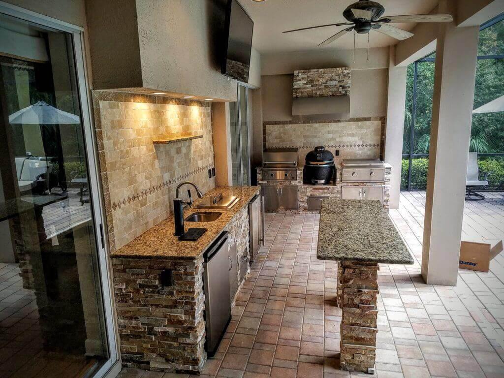 Complete Stonework Kitchen