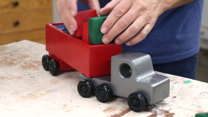 DIY 2×4 Wooden Toy Truck
