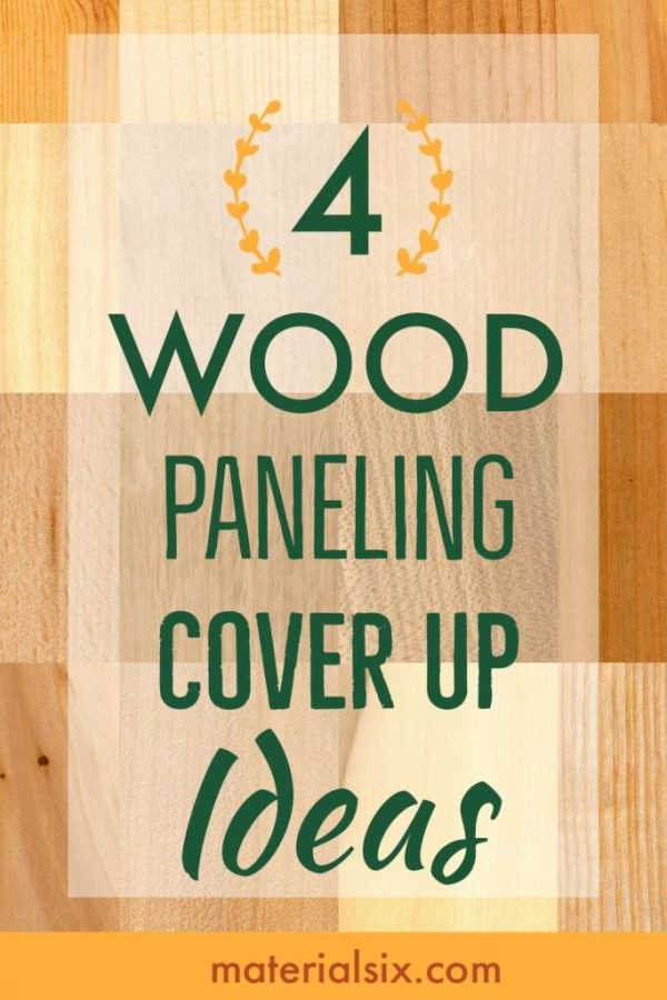 Popular wood paneling cover up ideas