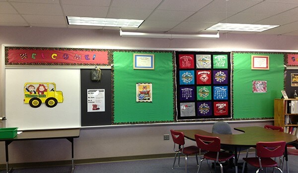 Arranging Boards And Decoration in Classroom