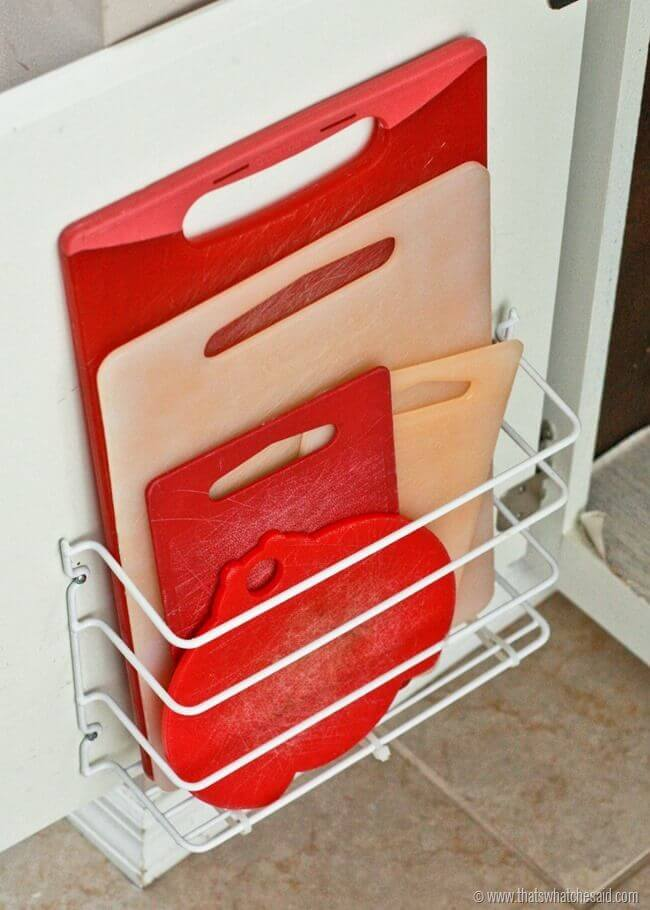 Cutting Board Storage