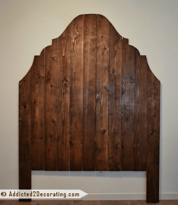 Cedar fence Picket Headboard