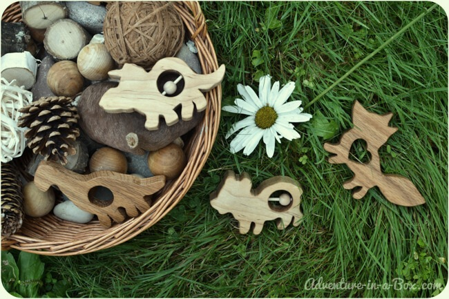 DIY Wooden Toys - Rattles and Teethers